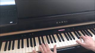 Sitting Down Here - Lene Marlin (Piano Cover)
