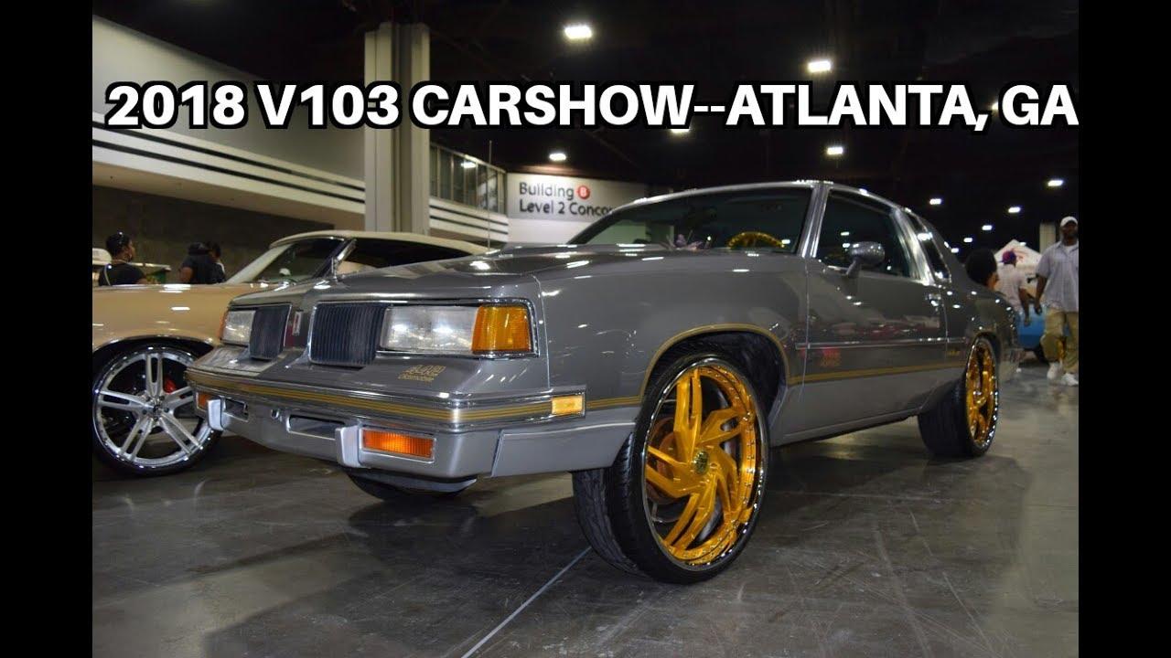 V Carshow Part Atlanta GA Big Wheels Wet Paint - Car show atlanta ga