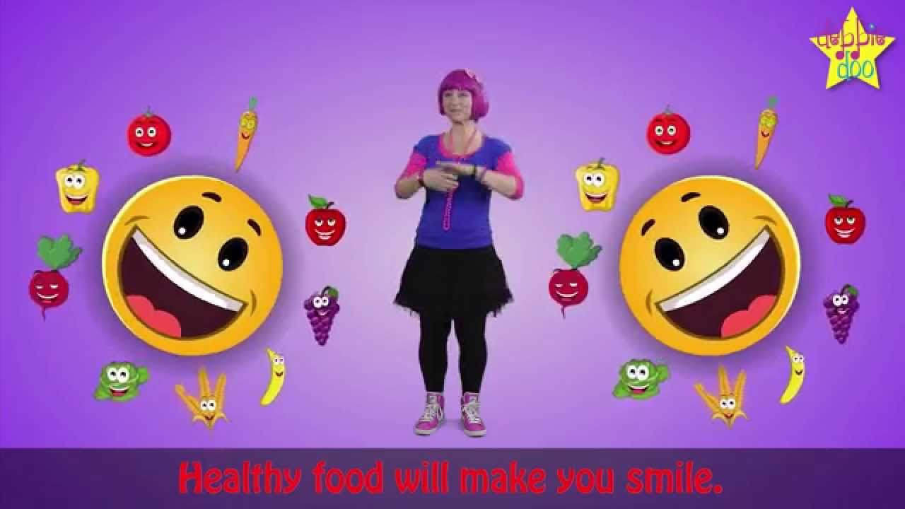 Ice Cream Once In A While Healthy Food Song For Children Debbie