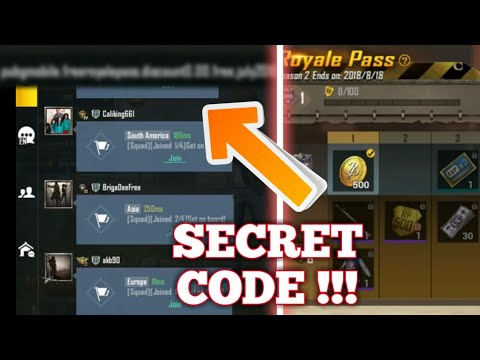 SECRET CODE TO GET ELITE ROYALE PASS FOR FREE IN PUBG MOBILE! | PUBG MOBILE