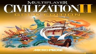 Civilization 2: Multiplayer Gold Edition gameplay (PC Game, 1998)