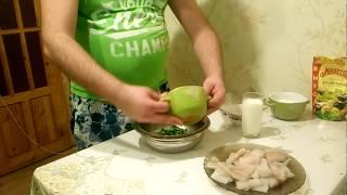 Как приготовить рыбу в кляре (запекаем в духовке). Минтай.