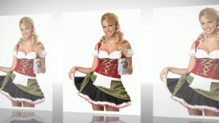 Bavarian Bar Maid Costume by California Costumes