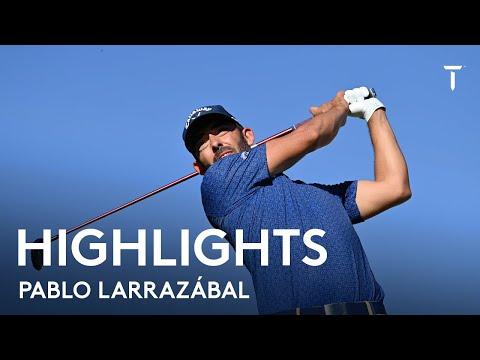 Pablo Larrazábal | Round 1 Highlights | 2021  Estrella Damm N.A. Andalucía Masters