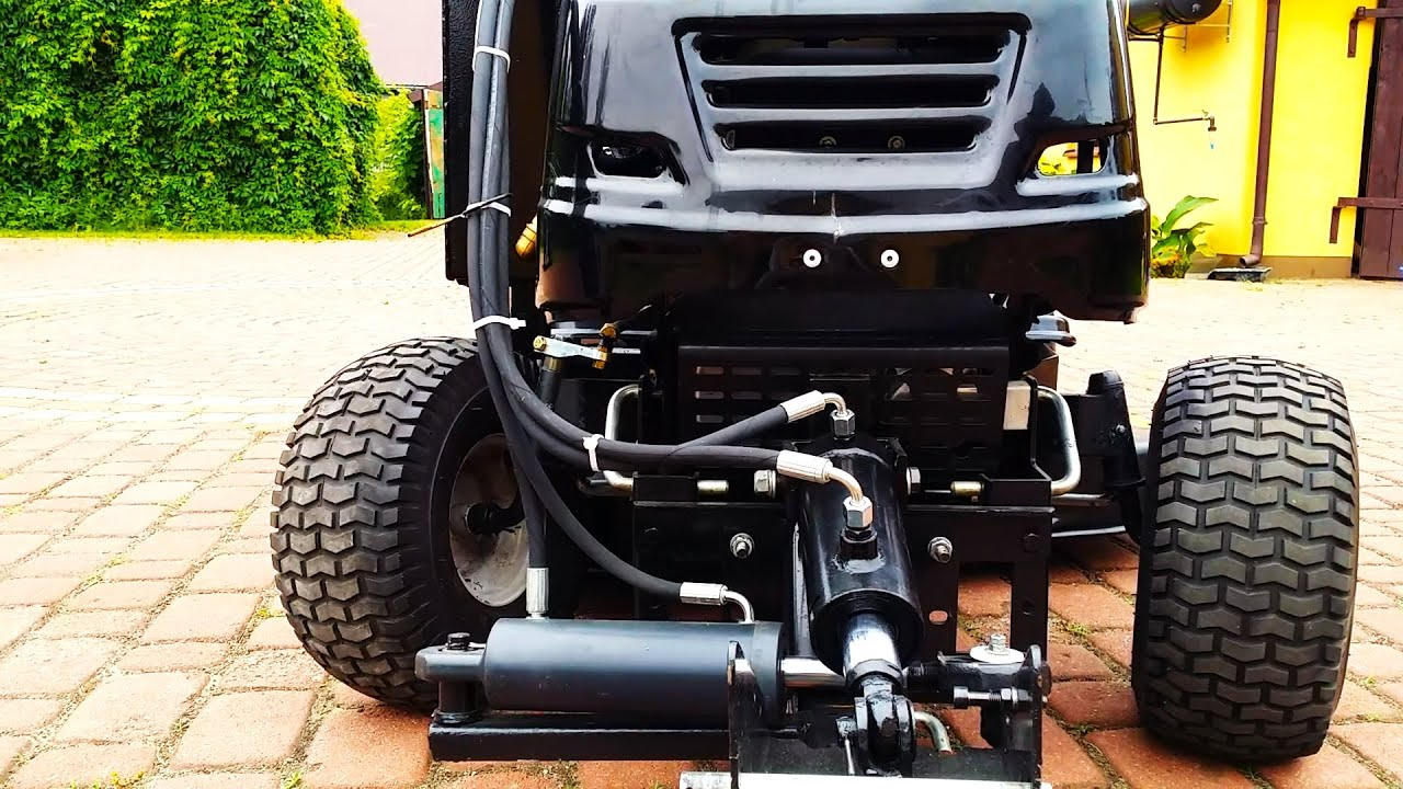 Garden Tractor Hydraulic Implement Lift : Kosiarka traktorek mtd garden tractor hydraulika siłowa