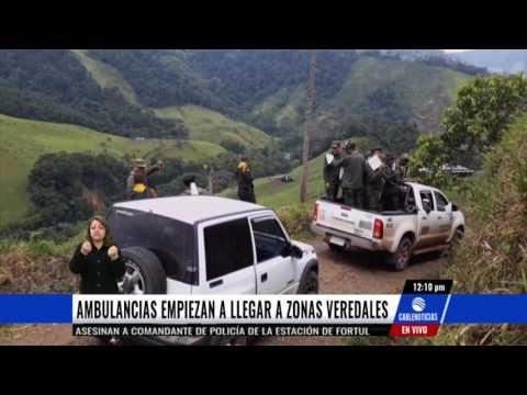 Ambulancias empezarán a llegar a las zonas de concentración de las Farc