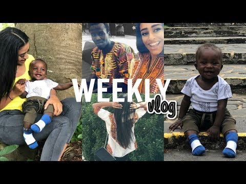 MEET MY BABY DADDY + BLACK PANTHER SCREENING    WEEKLY VLOG