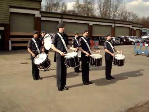 Air Cadet Drum Corps 20 April 2013