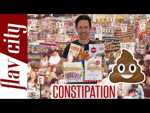 The Top 10 Foods To Eat For Constipation Relief...With Recipes!