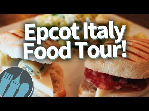 Disney World Italy Pavilion: NOSH OR NOT? Epcot Food Tour!