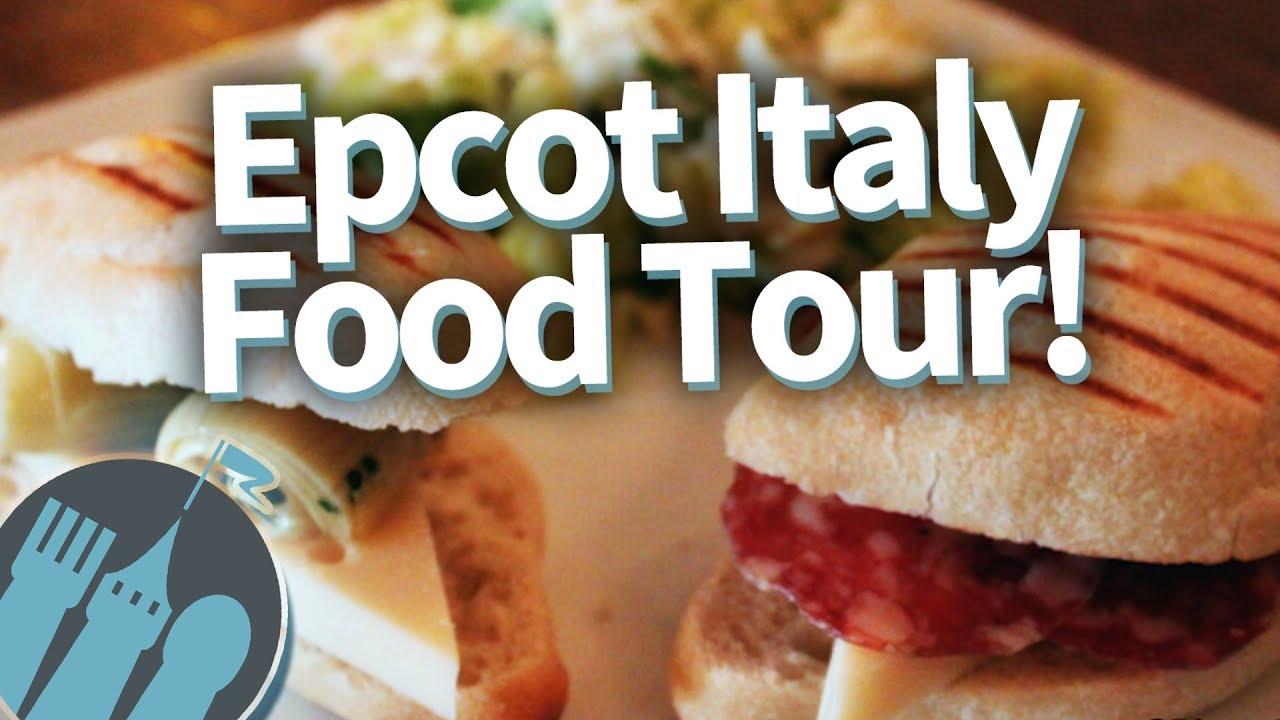 Disney World Italy Pavilion Nosh Or Not Epcot Food Tour