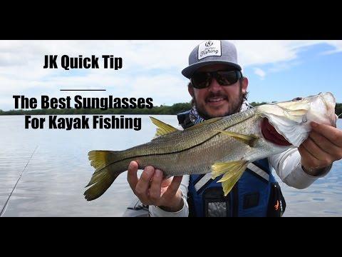 Top Sunglasses for Kayak Fishing   Brook Beatty's Rundown