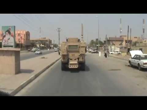 On Convoy Through Nasiriyah Iraq 1