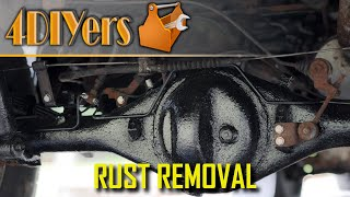 How to Remove and Paint Undercarriage Rust Using Krud Kutter