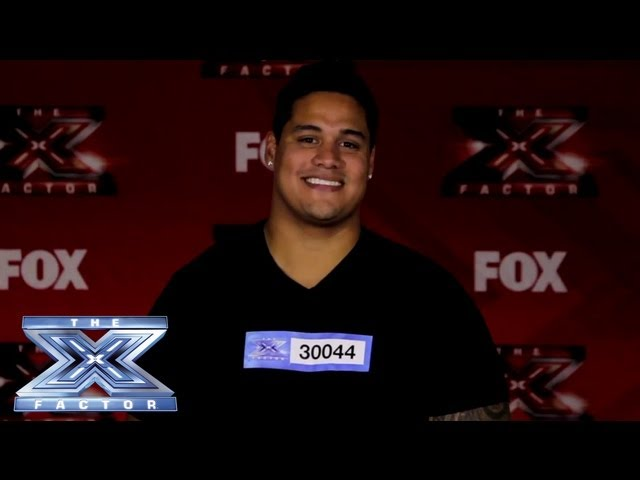 Yes, I Made It! Isaac Tauaefa- THE X FACTOR USA 2013