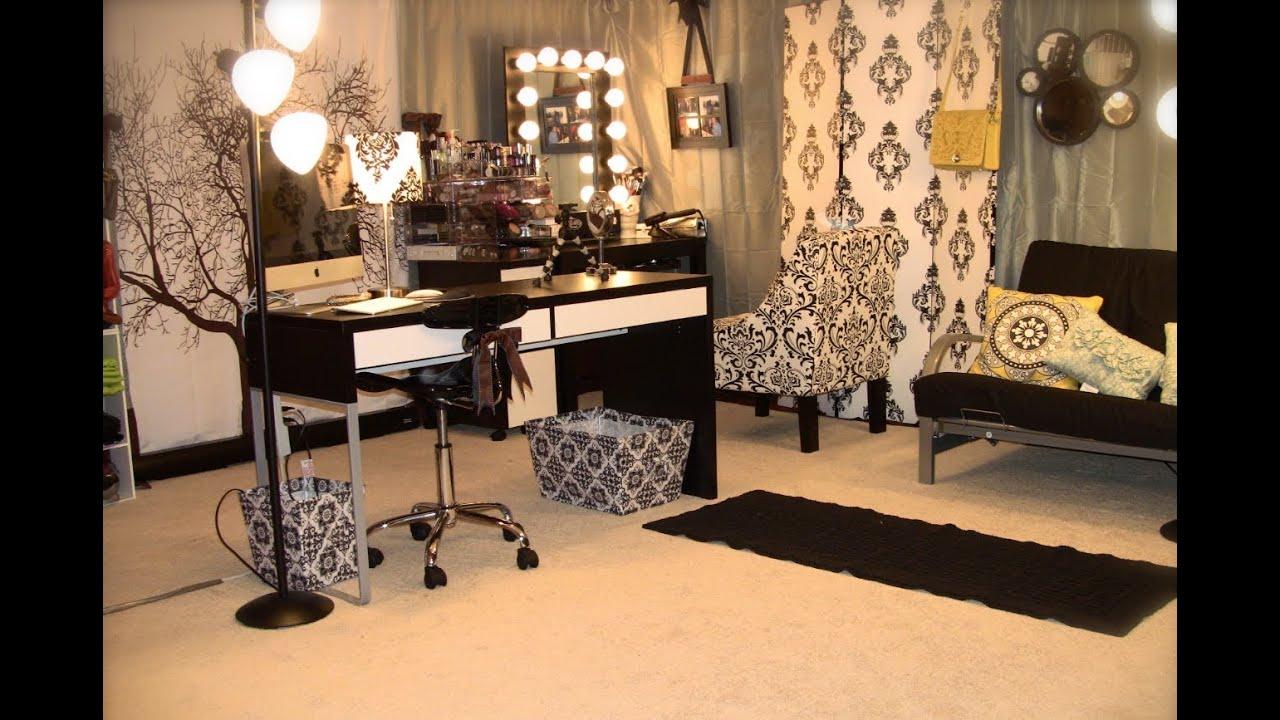 Alternative Acrylic Makeup Storage & Filming Studio ... on Make Up Room Ideas  id=84708
