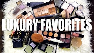 FAVORITE LUXURY MAKEUP | Worth the money