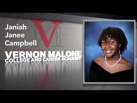 Vernon Malone College and Career Academy Virtual Graduation