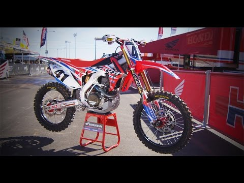 Inside Trey Canard's Factory HRC Honda CRF450||Motocross Action Magazine