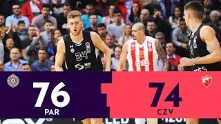 KUP RADIVOJA KORAĆA: Partizan - Crvena zvezda 76:74 | Poslednji minut