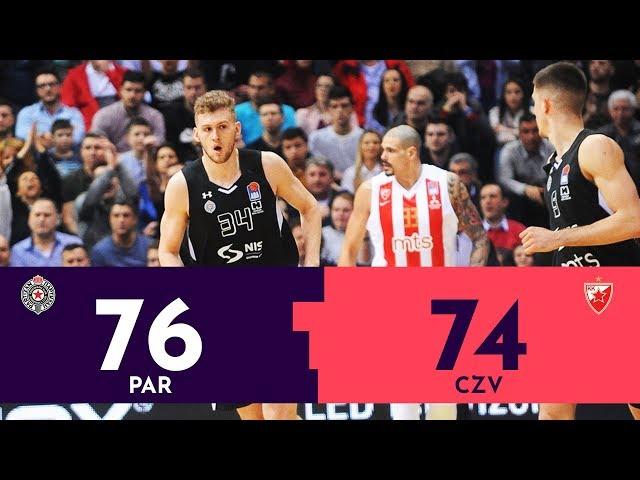 Partizan - Crvena zvezda 76:74 | Poslednji minut | MONDO VIDEO