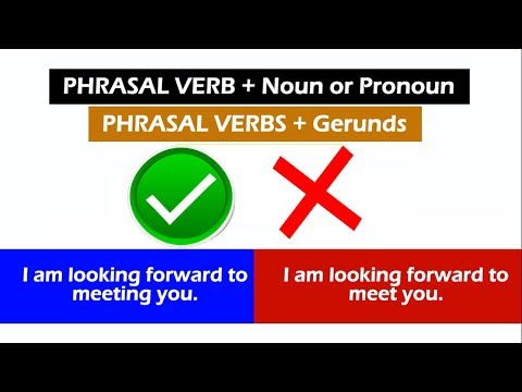 I'm looking forward to meeting you VS. I'm looking forward to meet you | English Grammar Guide