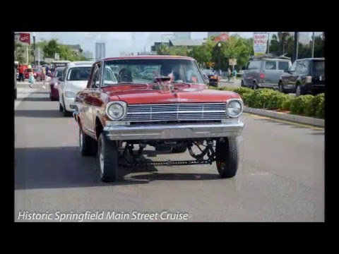 Historic Springfield Main Street Cruise, Jacksonville, Fl.  2015 Year in Review Cruise!! (No Music)