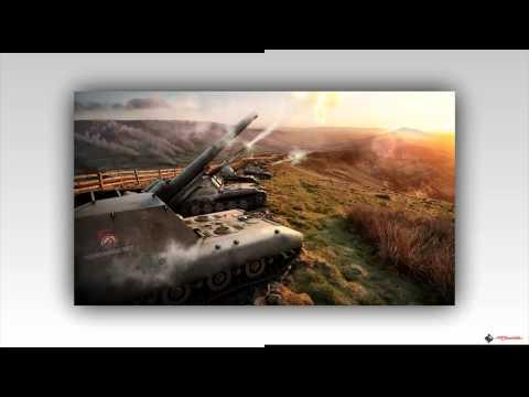 World of Tanks. Картинки из игры. 1 Часть.