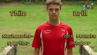 Thilo Brill: Nachwuchssportler des Monats Oktober