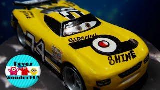 Disney Cars 3 Next Gen Sidewall Shine #74 Petrolski Jr| custom car scale 1:55