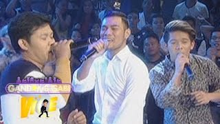 GGV: Jovit, Bugoy, Marcelito sing Justin Beiber hits