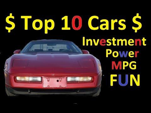 TOP 10 CARS C4 CORVETTE ~ MPG MUSCLE POWER VALUE VIDEO REVIEW
