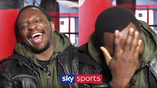 Dillian Whyte bursts into LAUGHTER at Wilder, and calls out Fury!