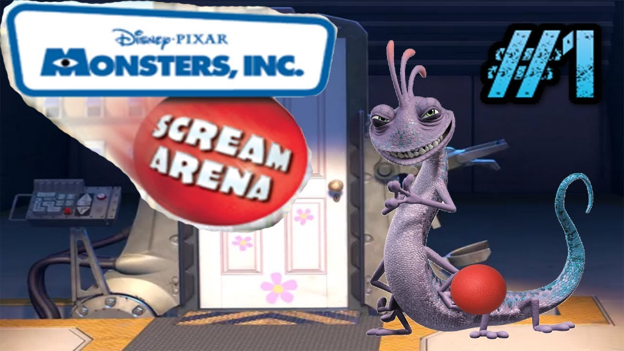 Let's Play: Monsters INC: Scream Arena: