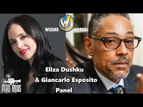 ELIZA DUSHKU & GIANCARLO ESPOSITO-Portland Wizard World PANELS 2015