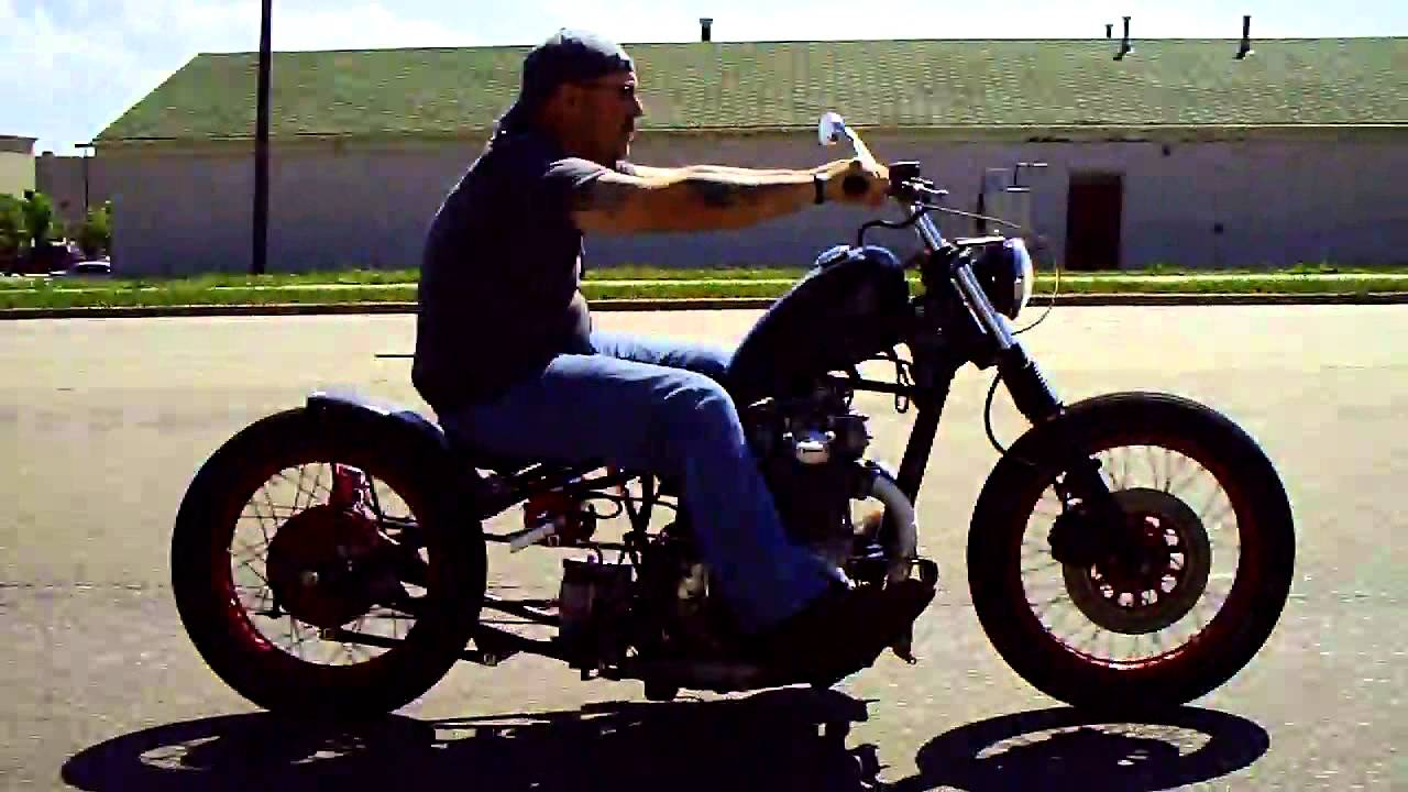 Old School Hardtail Bobber! Taking The Tempered Bobber For A Ride ...