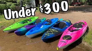 5 Kayaks Under $300 Reviewed: Are They Worth It?