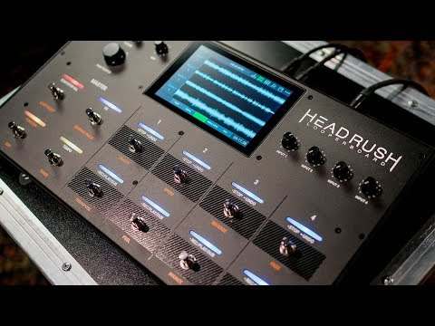 HeadRush Releases the Looperboard -- An Intuitive Approach to Loopers