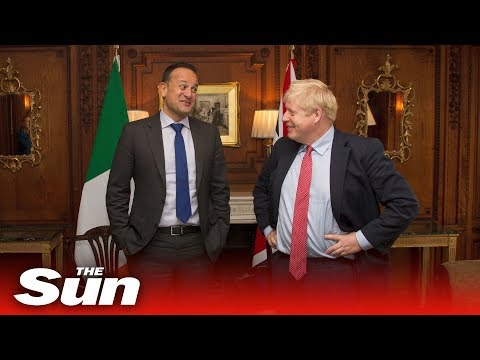 Boost for Boris Johnson as Leo Varadkar agrees Brexit deal IS possible