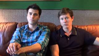 On The Days Of Our Lives Set With Freddie Smith & Guy Wilson  Pt 1 Of 2