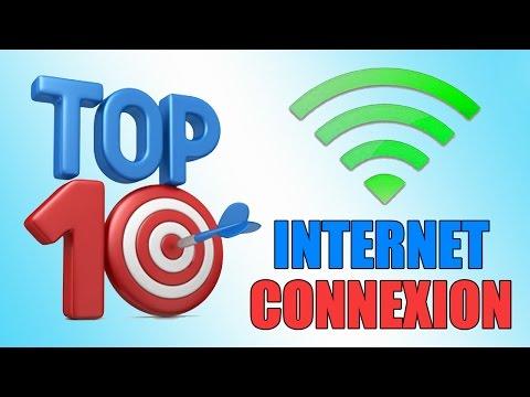 TOP 10 des Pays avec la meilleurs Connexion Internet!