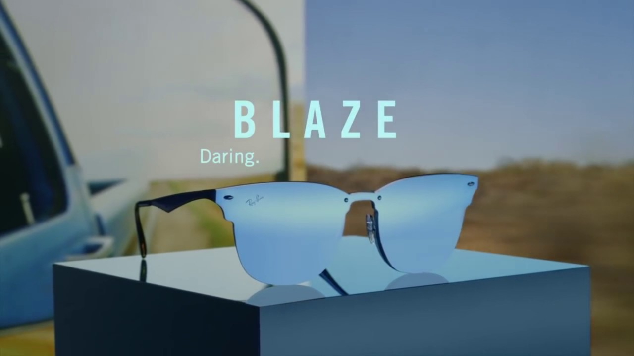 23735c106c501 Ray-Ban Blaze Collection Sunglasses - YouTube