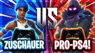 🎮💶ZUSCHAUER vs BESTE PS4 SPIELER! | Wer es schafft die Pros zu besiegen bekommt 40€!