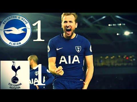 Brighton vs Tottenham 1-1    Highlights & All Goals