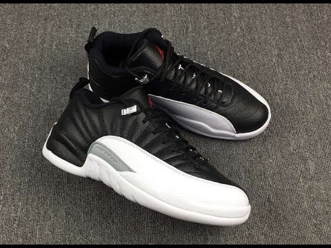 separation shoes cdac5 38233 The Air Jordan 12 Low Playoff Lands In 2017