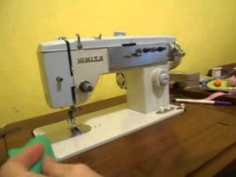 White 40 Sewing Machine YouTube Beauteous White Sewing Machine Models