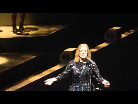 Adele 'When We Were Young' Live @ 02 Arena London 18.03.16 HD