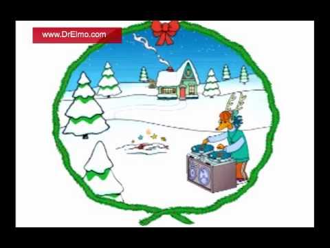 Grandma Got Run Over By A Reindeer - Elmo & Patsy (Music Video)