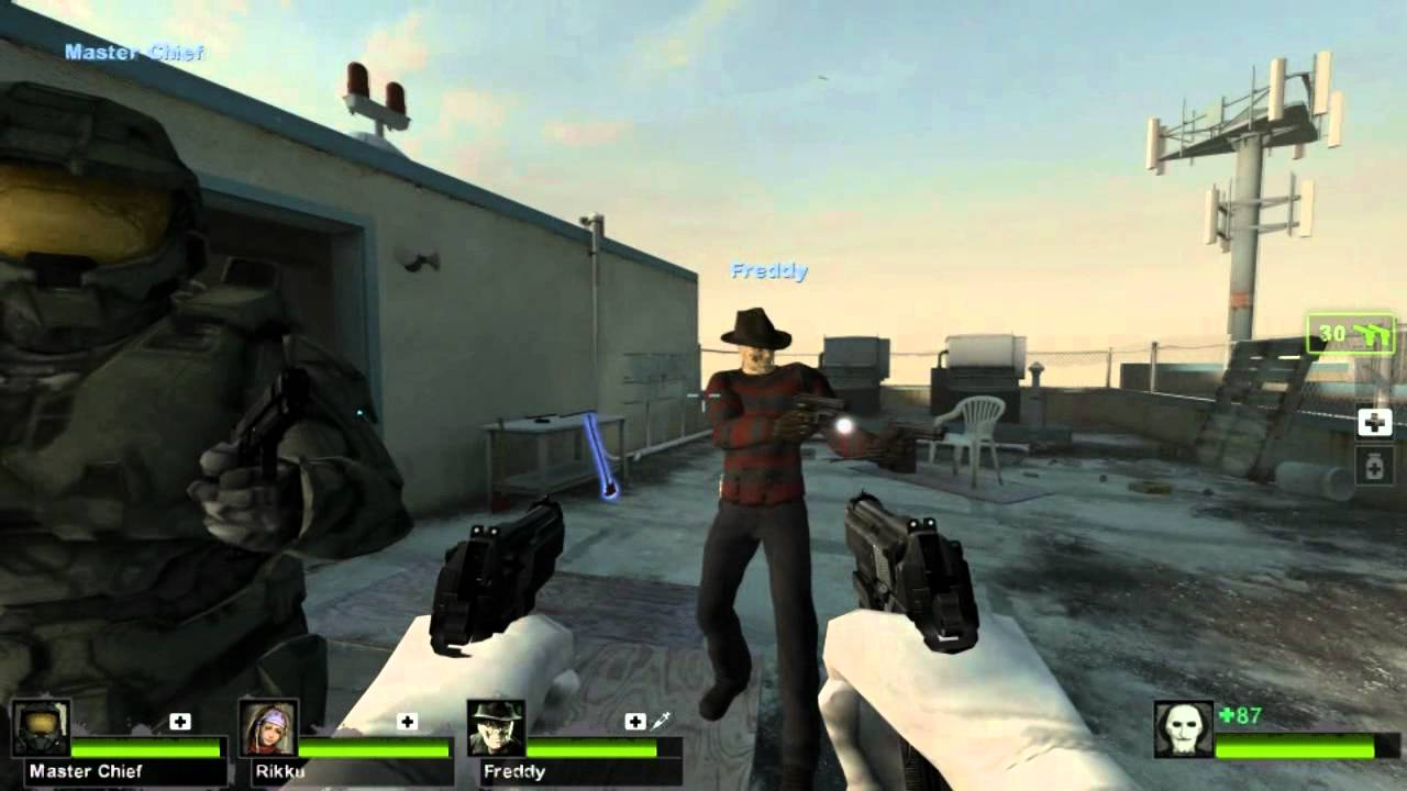 L4D2 Modified Talker (Norepeat removed)