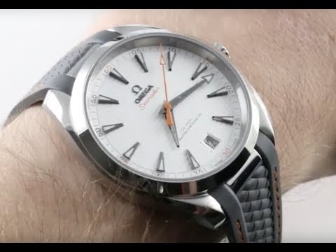 Omega Seamaster Aqua Terra Golf Edition II 220.12.41.21.02.002 Luxury Watch Review